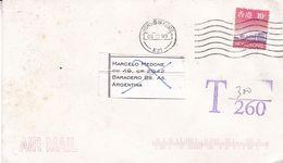 HONG KONG ENVELOPPE CIRCULEE A BARADERO, ARGENTINE ANNEE 1999 PAR AVION -LILHU - 1997-... Chinese Admnistrative Region
