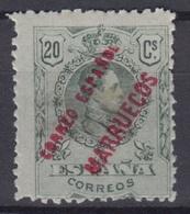 MAROC ESPAGNOL : 20 Cs N° 29 SURCHARGE NEUF * GOMME AVEC CHARNIERE - Marruecos Español