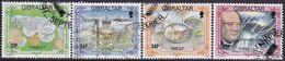 GIBRALTAR 1993 SG #709-712 Compl.set Used Anniversaries - Gibraltar