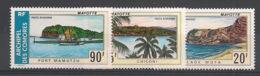 Comores - 1974 - Poste Aérienne PA N°Yv. 62 à 64 - Paysages - Neuf Luxe ** / MNH / Postfrisch - Poste Aérienne