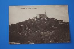 MONUMENT EGLISE SAINT JOSEPH LE CABOT CPA-Carte Postale[13] Bouches-du-Rhône - Südbezirke, Mazargues, Bonneveine, Pointe Rouge, Calanque-Felsen