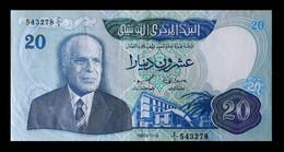 # # # Banknote Tunesien (Tunisia) 20 Dinare 1983 AU # # # - Tunisie