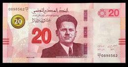 # # # Banknote Tunesien (Tunisia) 20 Dinars 2017 UNC # # # - Tunisie