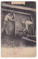 Au Pays Noir La Mine Métier Mineurs N°19 Le Boisage VOIR DOS TIMBRES - Mineral