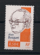 France - 2002 - N°Yv. 3462a - Alain Bosquet - Sans Phosphore - Neuf Luxe ** / MNH / Postfrisch - Variétés Et Curiosités
