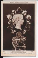 Bibliothèque Nationale. Camée Antique Représentant Auguste. Sardonix à Deux Couches. Monture Médiévale. Lapina. - Bellas Artes