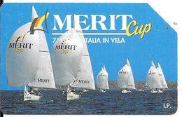 CARTE-MAGNETIQUE-ITALIE-5000 Lires-7e Tour D Italie A La Voile-Utilisé-TBE - Sport