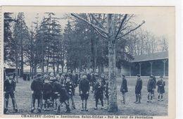 Loire - Charlieu - Institution Saint-Gildas - Sur La Cour De Récréation - Charlieu