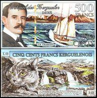 Kerguelen - 500 Francs 2011 UNC Lemberg-Zp - Billets