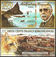 Kerguelen - 200 Francs 2010 UNC Lemberg-Zp - Billets