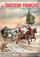 Transport Diligence  Et Moulin Sur Le Chasseur Français N: 718 De Décembre 1956 -  Illustration De  Engèn....? - Sport