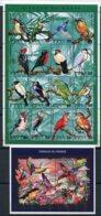 Mali     Oiseaux      766/781 ** + Bloc 40 ** - Birds