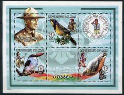 Mali              Oiseaux Et Scoutisme   Bloc 68 ** - Other
