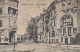 ALLENSTEIN, OPR.: Schillerstrasse - Pologne