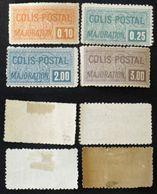 COLIS POSTAUX N° 77/80 Neuf  B/TB Cote 193€ Signé Calves - Nuovi