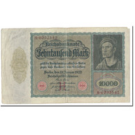 Billet, Allemagne, 10,000 Mark, 1922, 1922-01-19, KM:70, TTB - 10000 Mark