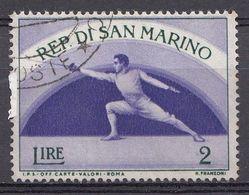 Saint-Marin 1954  Mi.nr.:514  Sport   OBLITÉRÉS / USED / GESTEMPELD - Oblitérés