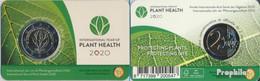 Belgien 2020 Stgl./unzirkuliert Auflage: 750.000 2020 2 Euro Jahr Der Pflanzengesundheit - Bélgica