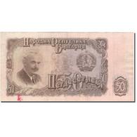 Billet, Bulgarie, 50 Leva, 1951, 1951, KM:85a, TB+ - Bulgarien