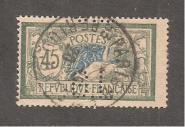 Perforé/perfin/lochung France Merson YT No 143 G.L Galeries Lafayette (81) - France