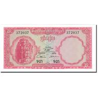 Billet, Cambodge, 5 Riels, Undated (1962-75), KM:10a, NEUF - Cambodge