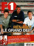 F1 Racing 36 Ayrton Senna Alain Prost, Michael Schumacher Jacques Villeneuve Juan-Manuel Fangio  Jim Clark Niki Lauda - Sport