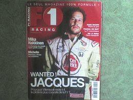 F1 Racing 2000 Jacques Villeneuve Mika Hakkinen Flavio Briatore Mika Hakkinen Michelin Jarno Trulli - Sport