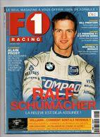 F1 Racing 28 Ayrton Senna Jenson Button Alain Prost Kimi Raikkonen Mika Hakkinen Michele Alboreto Damon Hill - Sport