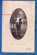 Photo Ancienne - GOURNAY En BRAY Seine Maritime - Portrait Petit Garçon à Identifier - Photographe Girardot - Communion - Non Classés