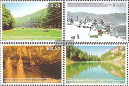 Kosovo 54-57 (complete Issue) Unmounted Mint / Never Hinged 2006 Tourism - Ungebraucht