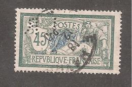 Perforé/perfin/lochung France Merson YT No 143 LR L. Reinhart Société D'Impor. Et Commis. - France