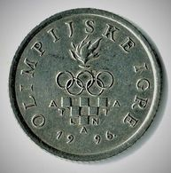CROATIE / 1 KUNA / JEUX OLYMPIQUES D'ATLANTA / 1996 - Croatia