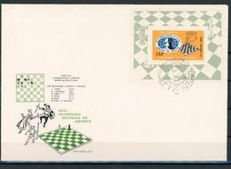 Kuba MiNr. Block 28 Ersttagsbriefe/ FDC Schach (Scha328 - Cuba