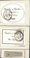 Prison Du Luxembourg à Paris Bon Pour Un Diner Délivré Par Commandant Lors Procès Ministres Charles X DEC 1830 - Marcophilie (Lettres)