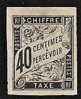Colonies Générales Taxe YT 10 N* Marges++ - Impuestos