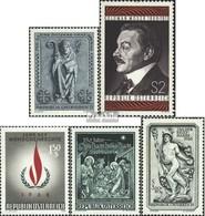 Österreich 1270,1271,1272,1276,1277 (kompl.Ausg.) Gestempelt 1968 Graz, Moser, Weihnachten, U.a. - 1945-.... 2. Republik