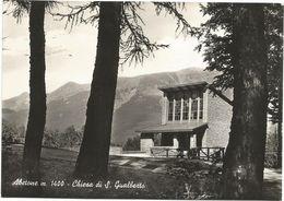 XW 2968 Abetone (Pistoia) - Chiesa Di San Gualberto - Panorama / Viaggiata 1959 - Altre Città