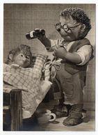 Fantaisie -- Animaux Habillés  ( Hérisson )..MECKI ...médecin...(malade, Sirop )......carte Allemande ....à Saisir - Animales Vestidos