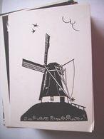 Nederland Holland Pays Bas Westerbork Knipkunst Molen - Niederlande