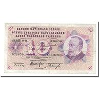Billet, Suisse, 10 Franken, 1965, 1965-01-21, KM:45j, TTB+ - Suiza