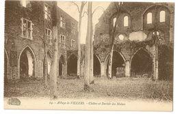 3 - Abbaye De Villers - Cloître Et Dortoir Des Moines - Villers-la-Ville
