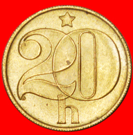· SHIELD (1972-1990): CZECHOSLOVAKIA ★ 20 HELLER 1988 UNC MINT LUSTER! LOW START ★ NO RESERVE! - Checoslovaquia