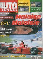 Auto Hebdo 1999 Mika Hakkinen Michael Schumacher Tommi Makinen Gilles Panizzi Dario Franchetti - Sport
