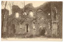 6 - Abbaye De Villers - Intérieur Du Cloître - Façade Des Celliers (N°16) - Villers-la-Ville
