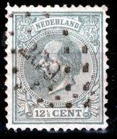 NEDERLAND   1872  121/2 C   PUNTSTEMPEL  209 - Used Stamps