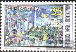 Bosnia-Herzegovina 39 (complete Issue) Unmounted Mint / Never Hinged 1995 Cohabitation Of 4 Religions - Bosnie-Herzegovine