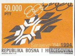 Bosnia-Herzegovina 8 (complete Issue) Unmounted Mint / Never Hinged 1994 Anniversary Opening Winter Olympics - Bosnie-Herzegovine