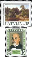Latvia 511,512 (complete Issue) Unmounted Mint / Never Hinged 1999 Special Stamps - Lettonie