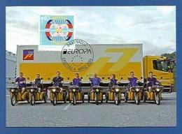 Liechtenstein  2013  Mi.Nr. 1661 , EUROPA CEPT - Postfahrzeuge - Maximum Card - Stempel Vaduz 4. März 2013 - Maximum Cards