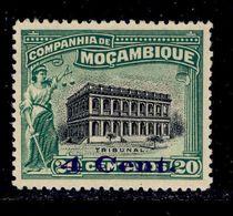 ! ! Mozambique Company - 1920 Local Motifs & Views 4 C - Af. 138 - MLH - Mozambique